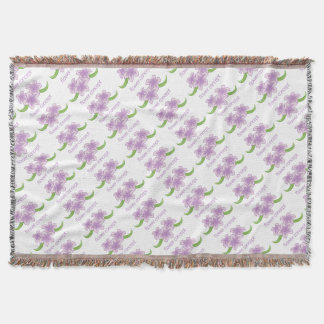 Flower Floral Florist Icon Throw