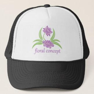 Flower Floral Icon Trucker Hat
