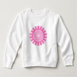 Flower Floral Pink Kids Children Boys Girls Mom Gi Sweatshirt