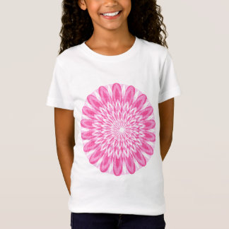 Flower Floral Pink Kids Children Boys Girls Mom Gi T-Shirt