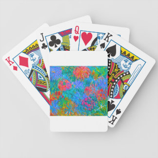 Flower Flow Bicycle Playing Cards