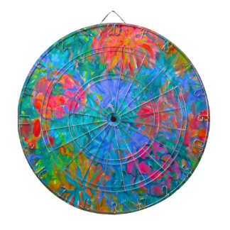 Flower Flow Dartboard