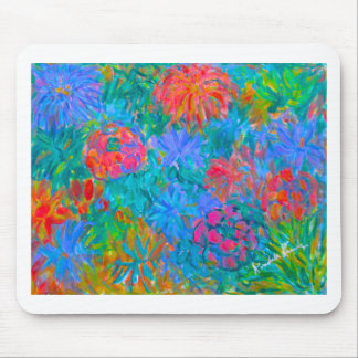 Flower Flow Mouse Pad