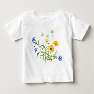 flower flowers of the field baby T-Shirt