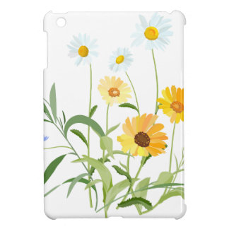 flower flowers of the field cover for the iPad mini