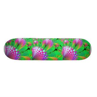 Flower Fractal Design Skateboard