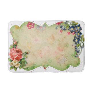 Flower Frame Bath Mat