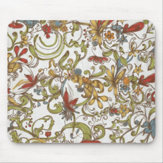 Flower Frenzy Mouse Pad