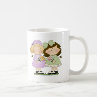 Flower Friends Girls Coffee Mug