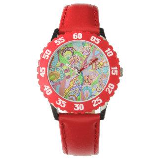 Flower Garden 4 Wrist Watches