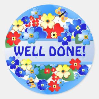 Flower Garden Award Sticker