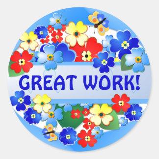 Flower Garden ~ Award Sticker # 2