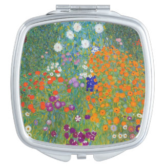 Flower Garden by Gustav Klimt Mirrors For Makeup