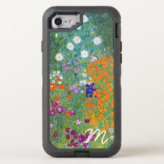 Flower Garden by Gustav Klimt Monogram OtterBox Defender iPhone 7 Case