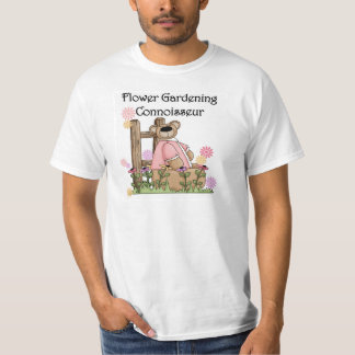 Flower Garden Connoisseur T shirts and Gifts