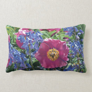 Flower Garden Drawing Pillow