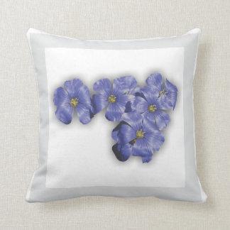 Flower Garden - Flax Pillow