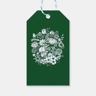 Flower Garden Gift Tags