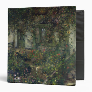 Flower garden in bloom, 1904 vinyl binders