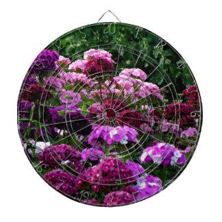 Flower Garden in summer Dartboard