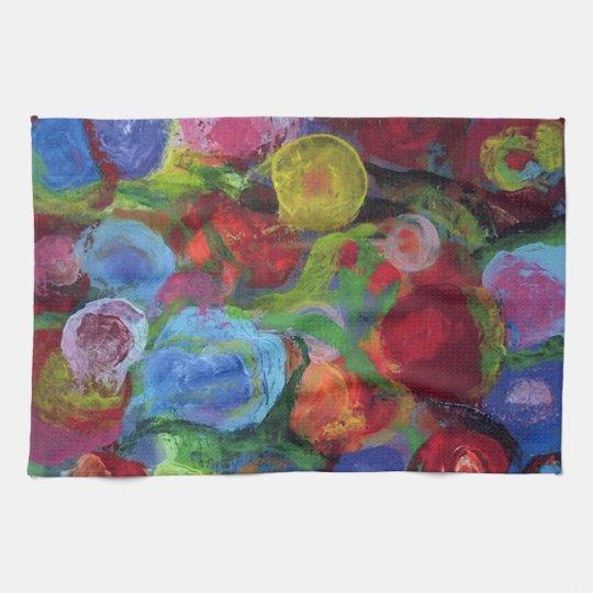 Flower Garden Kitchen Towel