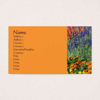 Flower Garden Nature Photography Business Card