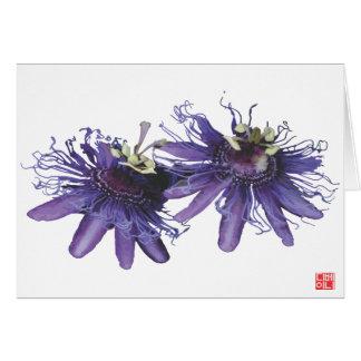 Flower Garden - Passion Flower Card
