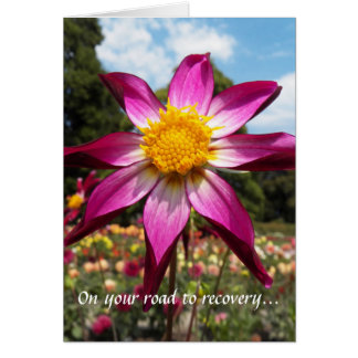 Flower Garden Road to Recovery Card