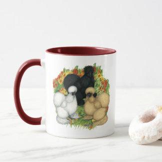 Flower Garden Silkies Mug