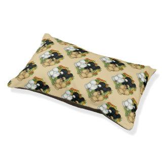 Flower Garden Silkies Pet Bed