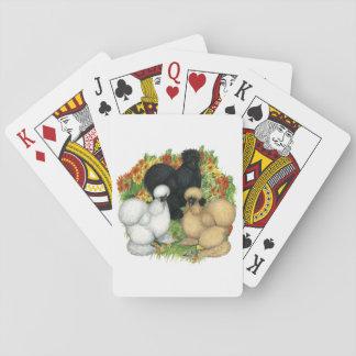 Flower Garden Silkies Playing Cards
