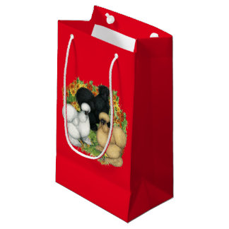 Flower Garden Silkies Small Gift Bag