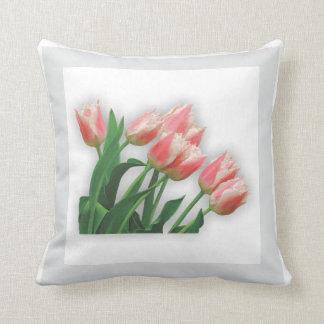 Flower Garden - Tulips Pillow