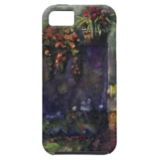 Flower garden wall iPhone 5 covers