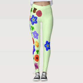 Flower Garland Leggings
