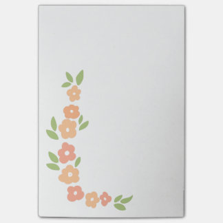 Flower Garland Post-Its Post-it Notes