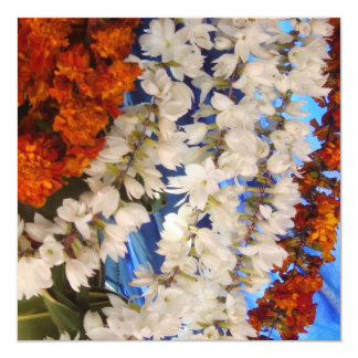 Flower Garlands India Card