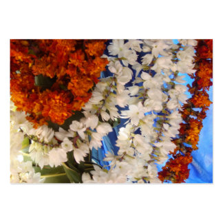 Flower Garlands India Large Business Card