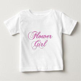 Flower Girl Baby T-Shirt
