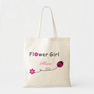 Flower Girl bag-beatles Tote Bag