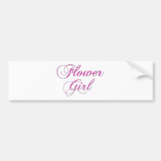 Flower Girl Bumper Stickers
