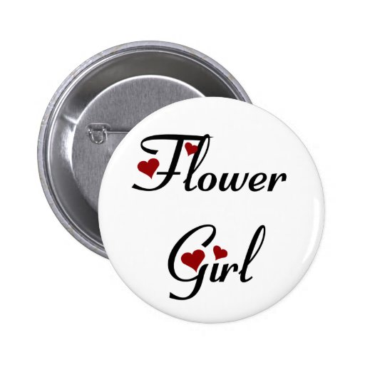 Flower girl button