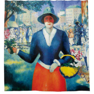 Flower Girl by Kazimir Malevich