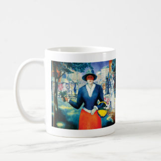 Flower Girl by Kazimir Malevich Coffee Mug