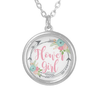 Flower Girl Chain Necklace Wedding Party Favor