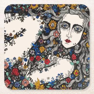 Flower Girl coaster