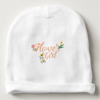 Flower Girl Cute Bridesmaid Baby Beanie