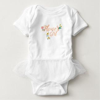 Flower Girl Cute Bridesmaid Baby Bodysuit