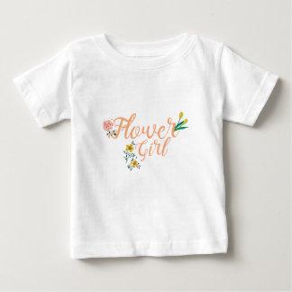 Flower Girl Cute Bridesmaid Baby T-Shirt