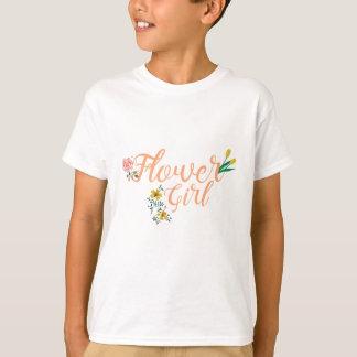Flower Girl Cute Bridesmaid T-Shirt